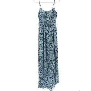Collective Concepts floral ruffle maxi dress XS
